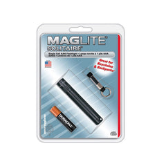 MAGLITE Black Solitaire Incandescent Flashlight (K3A016)