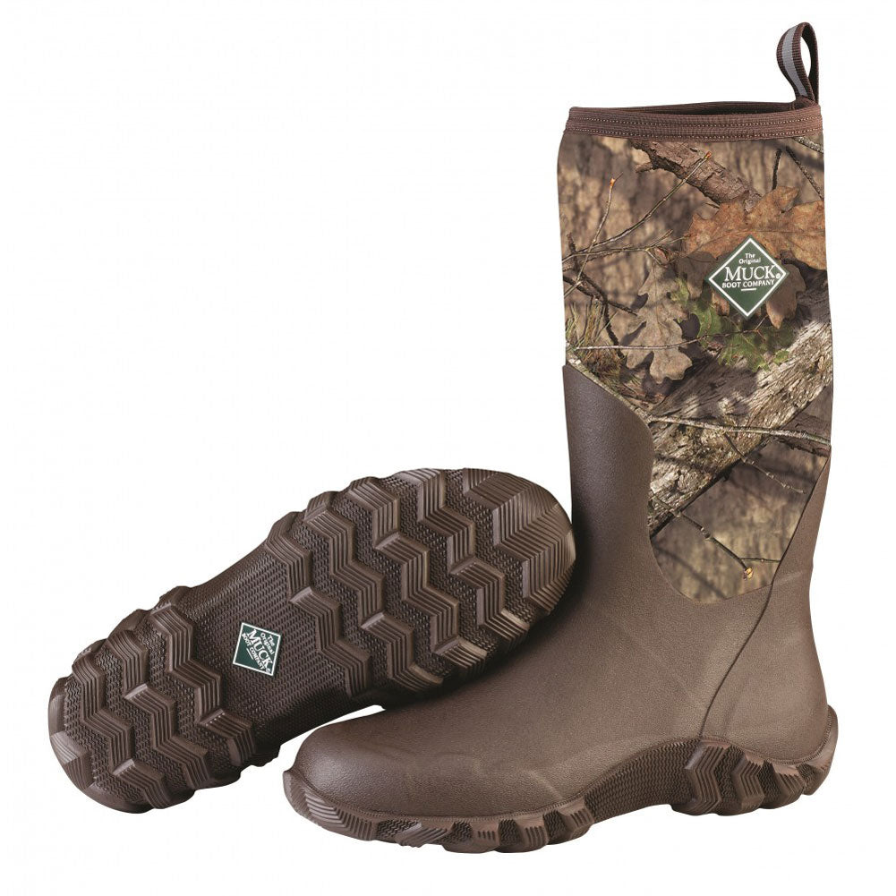 MUCK BOOT COMPANY Mens Woody Blaze Cool Mossy Oak Country Hunting Boot (BTM-MOCT-MOC)
