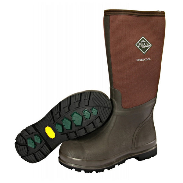 MUCK BOOT COMPANY Chore Cool Hi Brown Work Boot (CHCT-900-BRC)