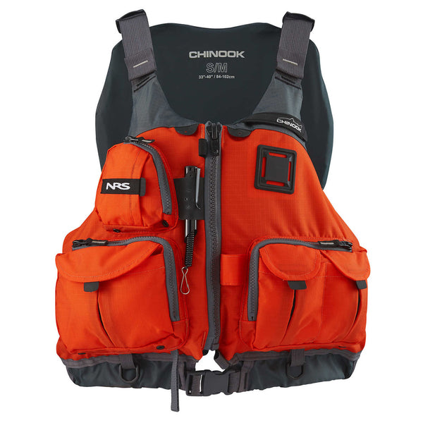 NRS Chinook Fishing Orange PFD Vest (40009.03-ORG)