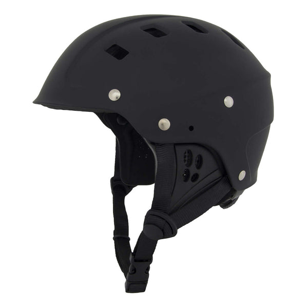 NRS 42605.03-BLK Chaos Side Cut Black Helmet