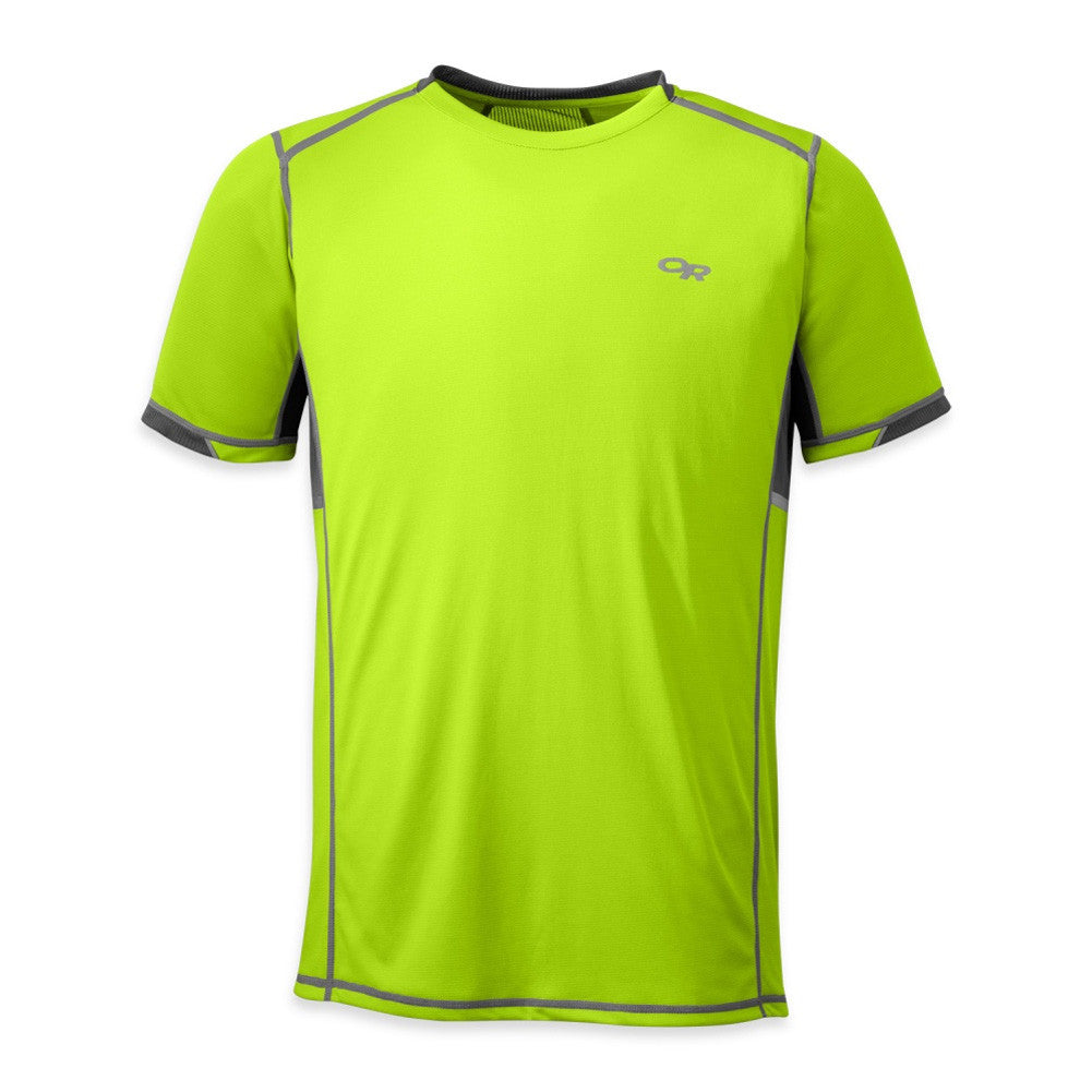 OUTDOOR RESEARCH Mens Octane Short Sleeve Jolt and Pewter Tee (242846-0123)
