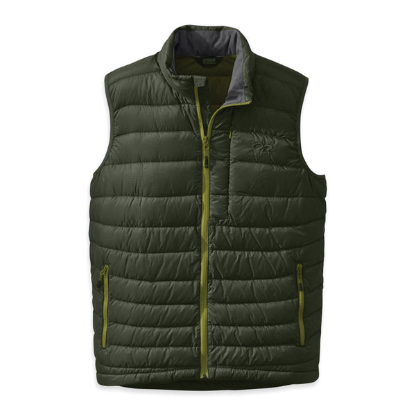 OUTDOOR RESEARCH 243074-0135 Mens Transcendent Evergreen and Hops Vest