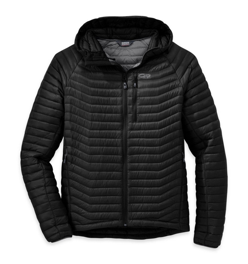 OUTDOOR RESEARCH 244807-0001 Men's Verismo Black Hooded Jacket