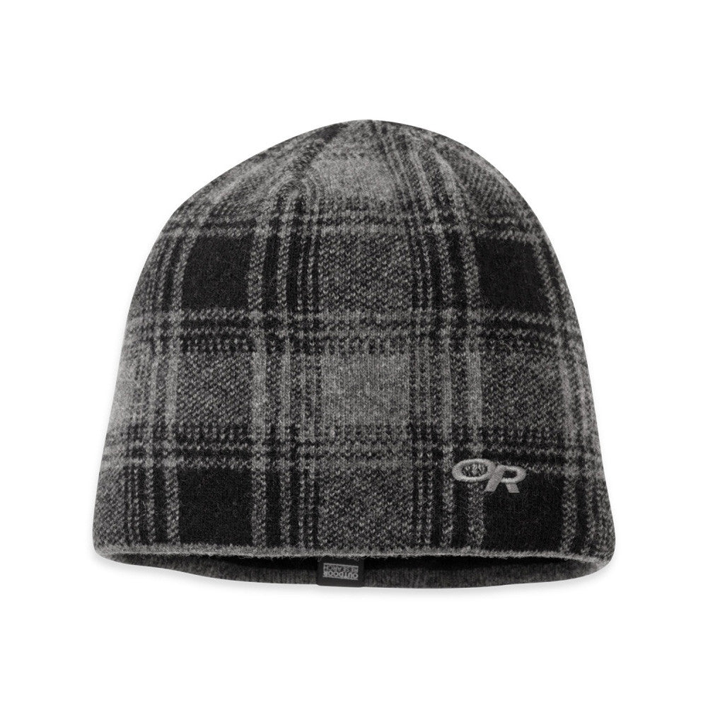 OUTDOOR RESEARCH 244845-0891222 Svalbard Charcoal and Black Beanie
