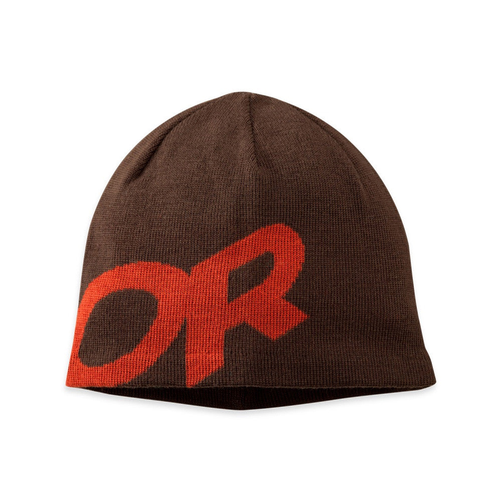 OUTDOOR RESEARCH 244850-0086222 Lingo Brown and Red Beanie