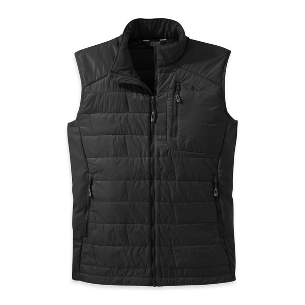 OUTDOOR RESEARCH 57520-189 Men's Cathode Black and Charcoal Vest