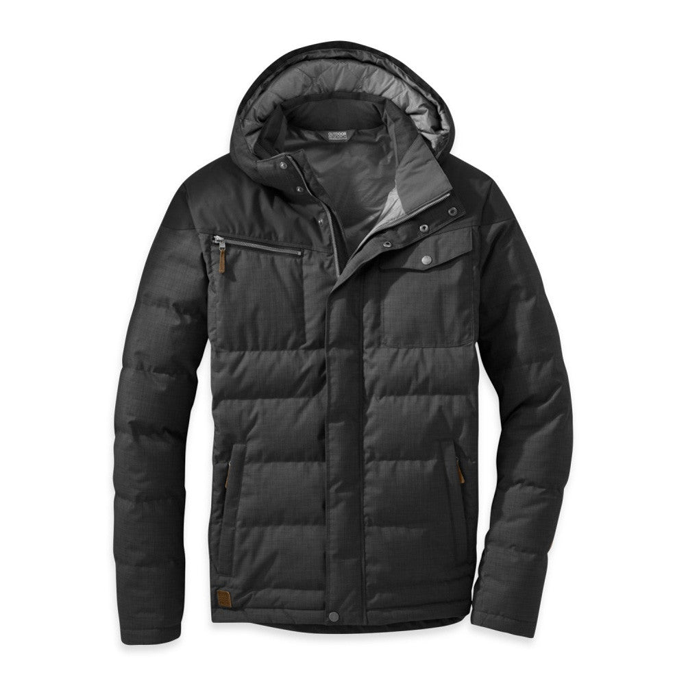 OUTDOOR RESEARCH 57555-001 Men's Whitefish Down Black Jacket