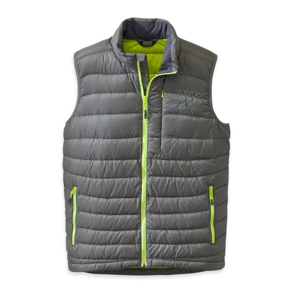 OUTDOOR RESEARCH 57582-054 Men's Transcendent Pewter and Lemongrass Vest