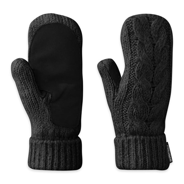 OUTDOOR RESEARCH 70136-001 Women's Pinball Black Mittens