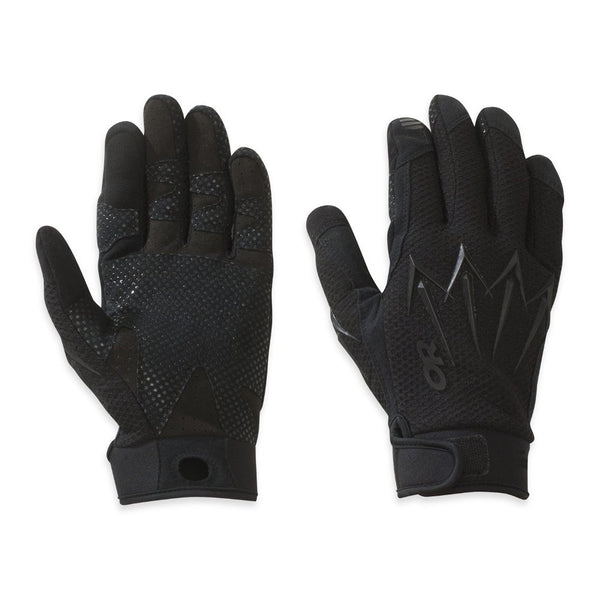 OUTDOOR RESEARCH Halberd All Black Gloves (70292-111)
