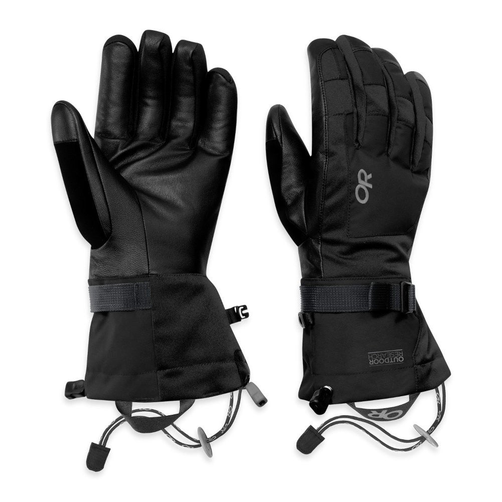 OUTDOOR RESEARCH 73191-001 Men's Revolution Black Gloves