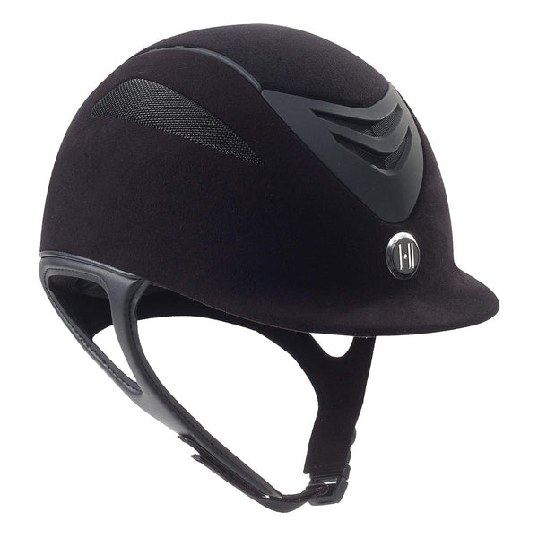 ONE K Defender Suede Black Helmet (468260BKMAT)