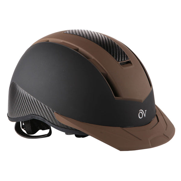 OVATION Extreme Black/Brown Helmet (467565BKBRN)