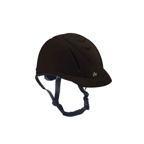OVATION Deluxe Schooler Brown Helmet (467566BRN)