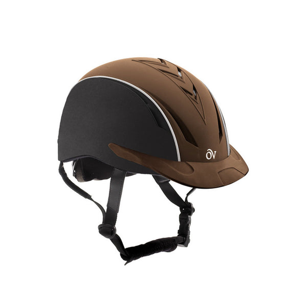 OVATION Sync Black/Brown Helmet (467567BKBRN)