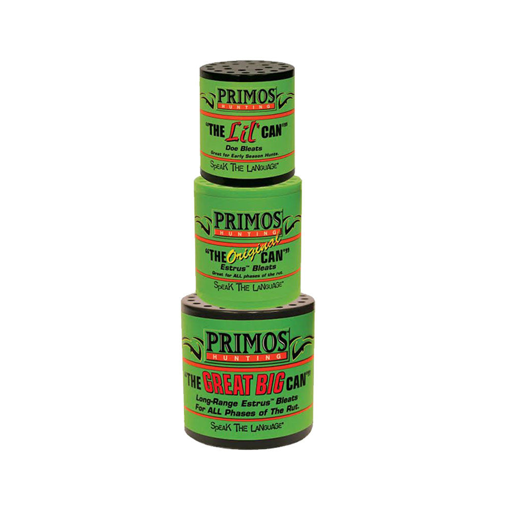 PRIMOS 713 The Can Family Pak Deer Calls