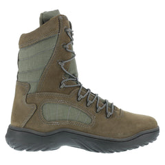 REEBOK CM8999 Mens Fusion Max 8in Sage Green Soft Toe Tactical Boots