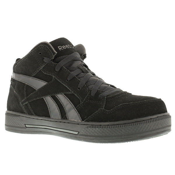 REEBOK Mens Dayod Light Weight Black Hi Top Skateboard Shoes (RB1735)