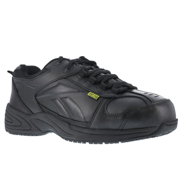 REEBOK Mens Centose Black Street Sport Internal Met Guard Oxford Shoes (RB1865)