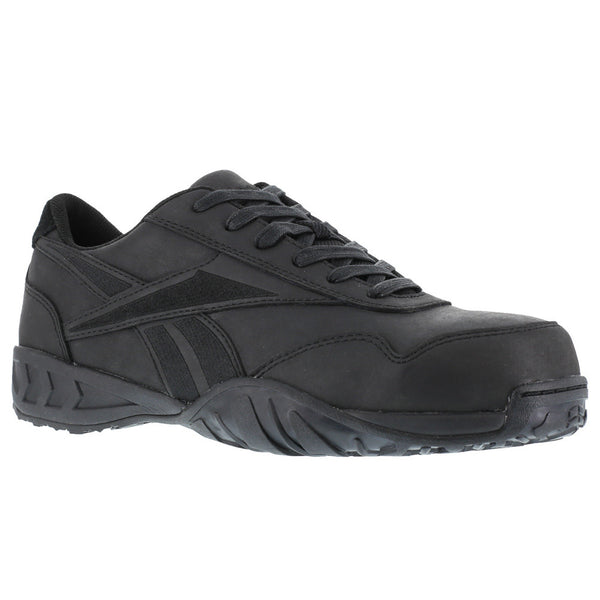 REEBOK Mens Bema Low Profile Black Euro Casual Athletic Oxford Shoes (RB1945)
