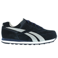 REEBOK RB1975 Mens Leelap Navy Blue Suede Leather Retro Jogger Oxford Shoes