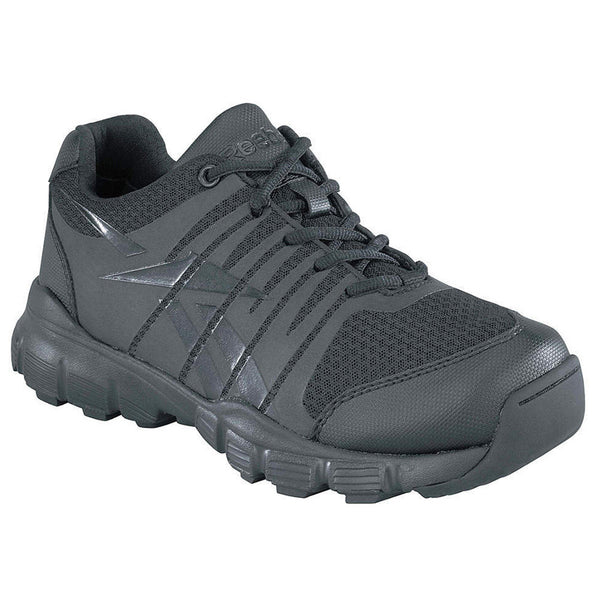 REEBOK Mens Dauntless Seamless Black Athletic Oxford Shoes (RB8180)