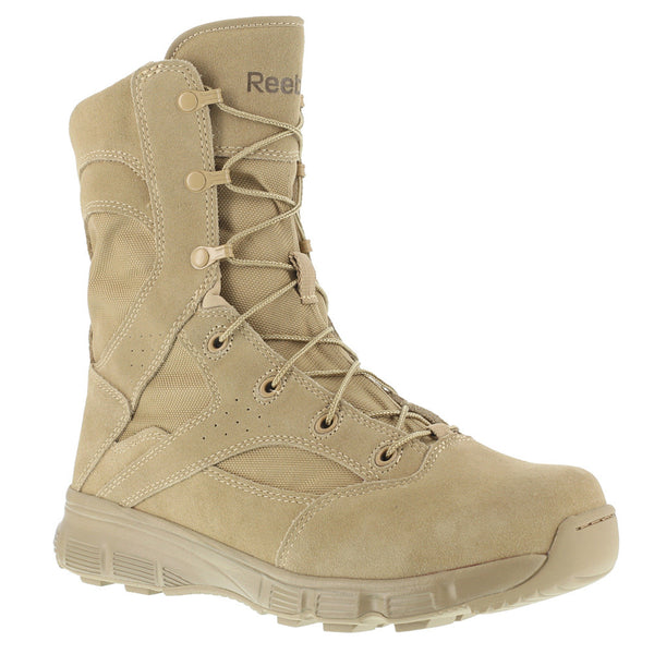 REEBOK Mens Dauntless 8in Desert Tan Tactical Boots (RB8820)