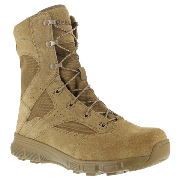 REEBOK Mens Dauntless 8in Coyote Tactical Boots (RB8822)