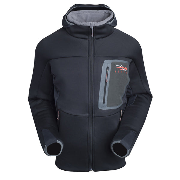 SITKA GEAR 70002-BK Black Traverse Cold Weather Hoody