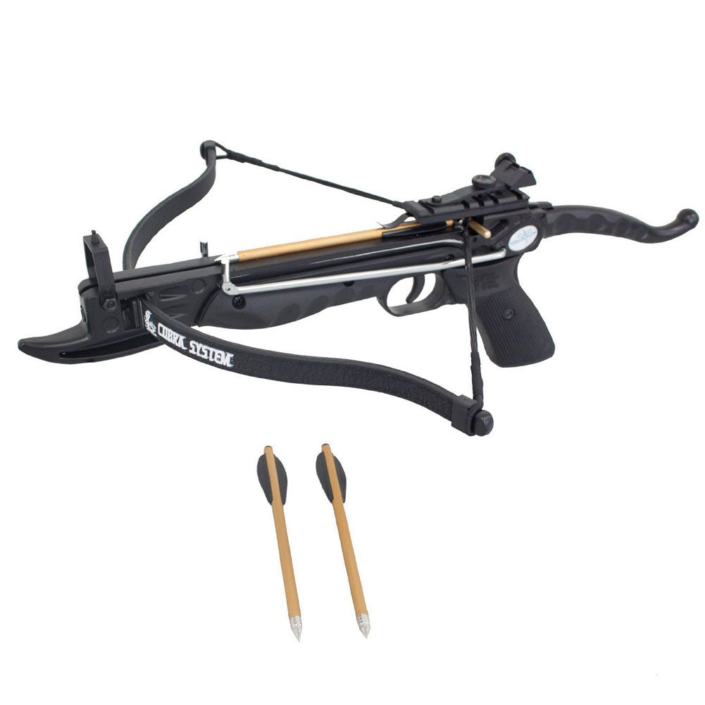 SOUTHLAND ARCHERY SAS-80M Prophecy 80lb Self-Cocking Black Crossbow