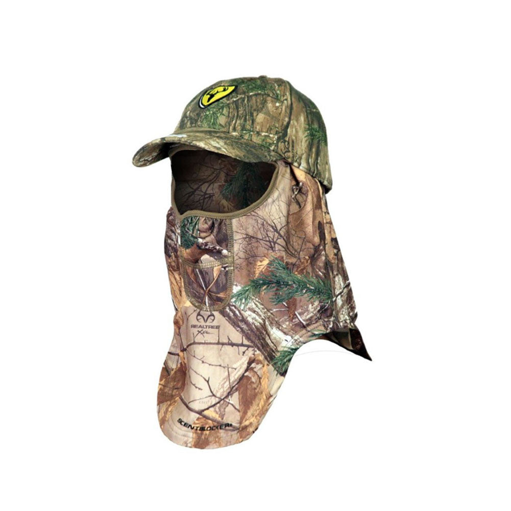 SCENTBLOCKER Realtree Xtra Cap and Facemask with Trinity (FMCTXT)