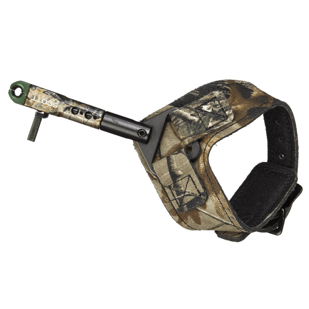 SCOTT ARCHERY 1002BS2-CA Shark Realtree Xtra Buckle Dual Caliper Release