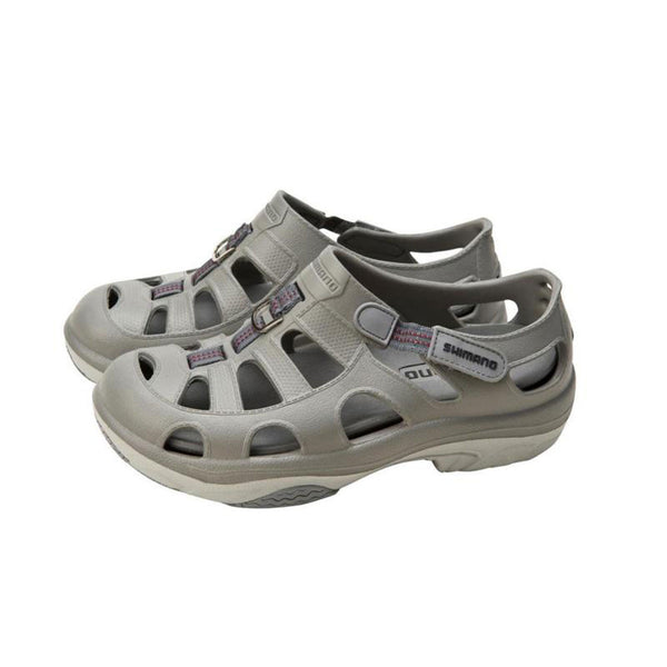 SHIMANO Evair Marine Gray Fishing Shoes (EVASHGY)