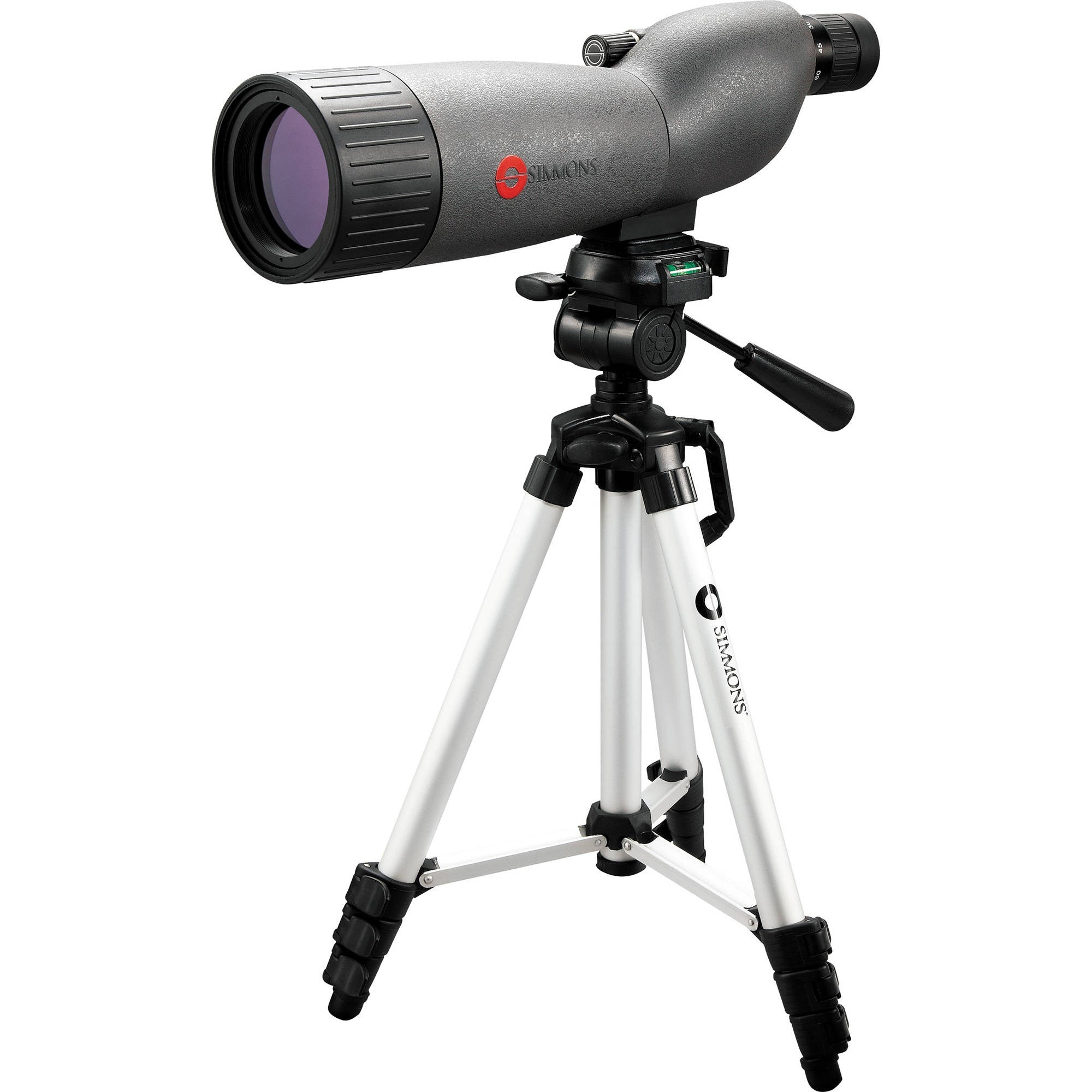 Simmons 841102 Pro Sport 20-60x60 Spotting Scope with Tripod and Hard Case 045618841140