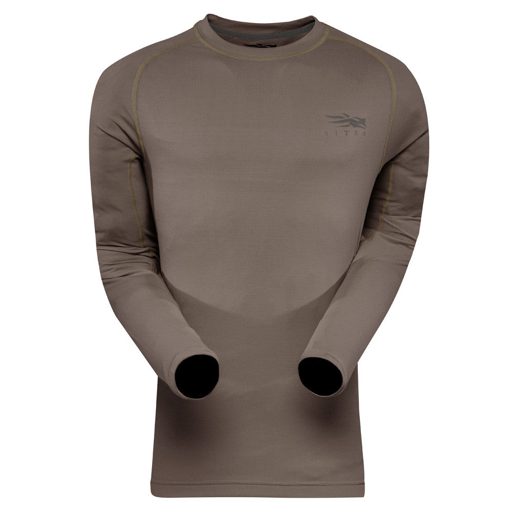 SITKA GEAR Pyrite Core Lightweight Crew Long Sleeve Shirt (10033-PY)