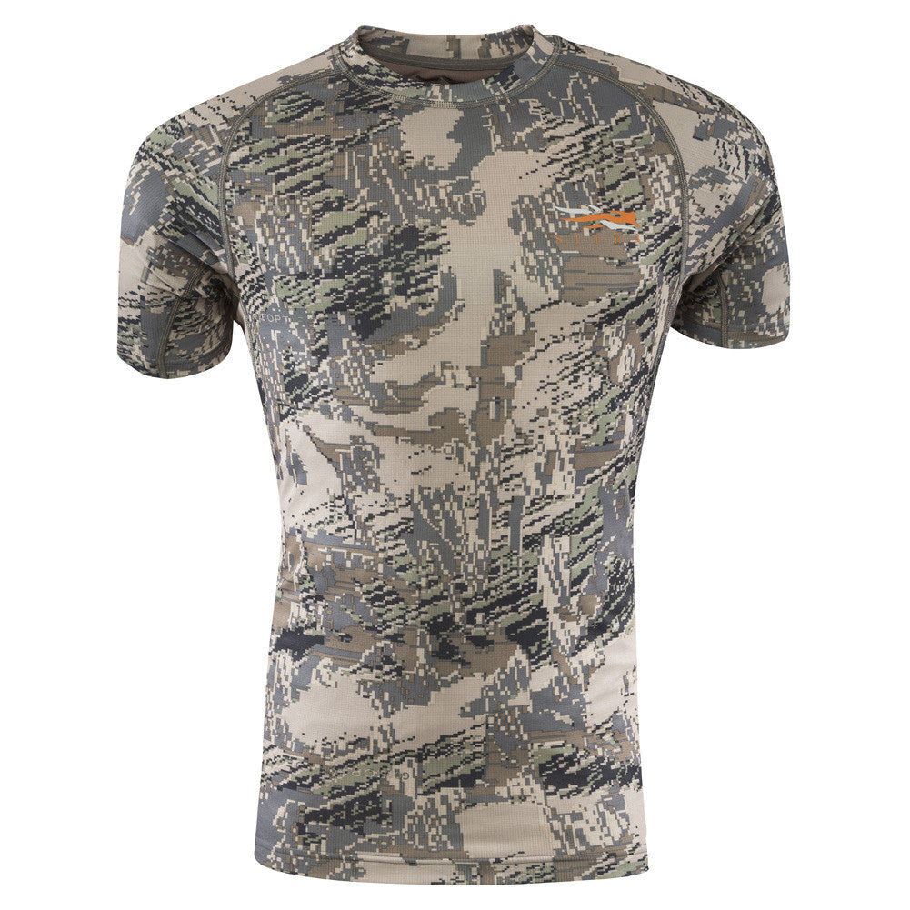 SITKA GEAR Optifade Open Country Core Lightweight Crew Short Sleeve Shirt (10034-OB)