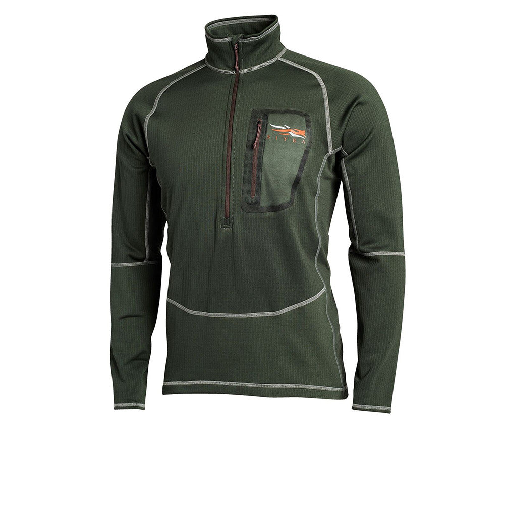 SITKA Core Heavyweight Zip-T Forest Shirt (10039-FO)