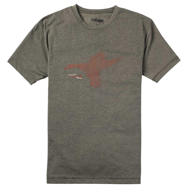 SITKA Duck Sketch Shortsleeve Pyrite T-Shirt (20037-PY)