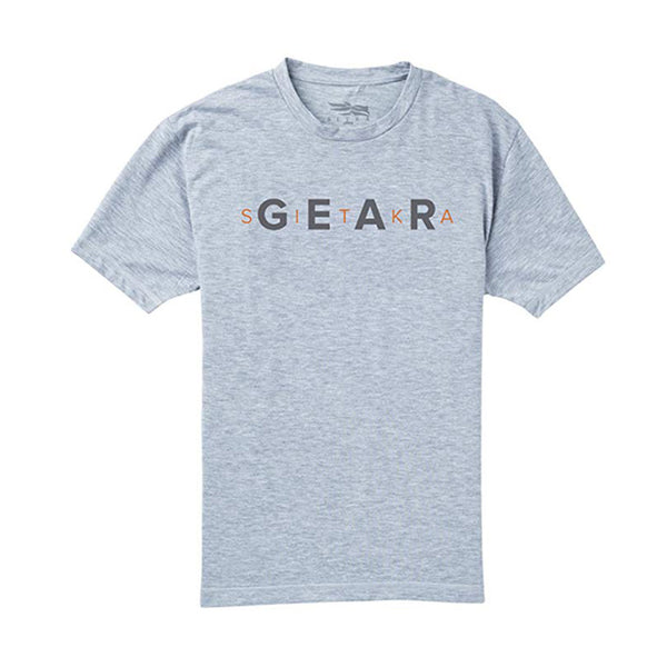 SITKA Gear Shortsleeve Heather Gray T-Shirt (20074-HG)