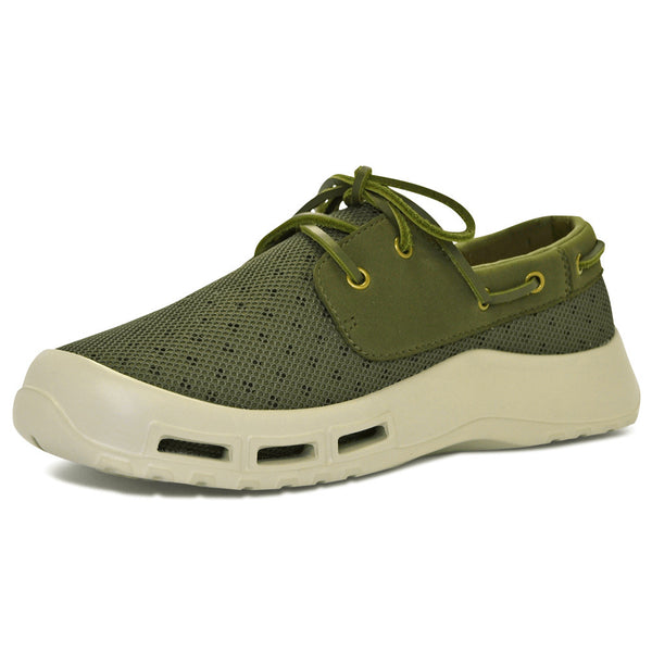 SOFTSCIENCE Mens Fin Sage Green Boating and Fishing Shoes (MB0005SAG)