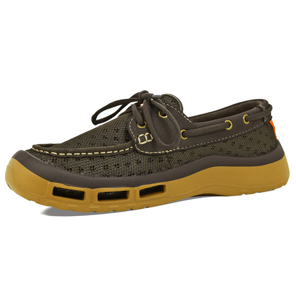 SOFTSCIENCE Mens Fin 2.0 Brown Fishing Shoes (MC0049BRN)