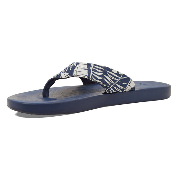 SOFTSCIENCE Men's Waterfall Palm Blue Flip Flop (MC0060BLU)