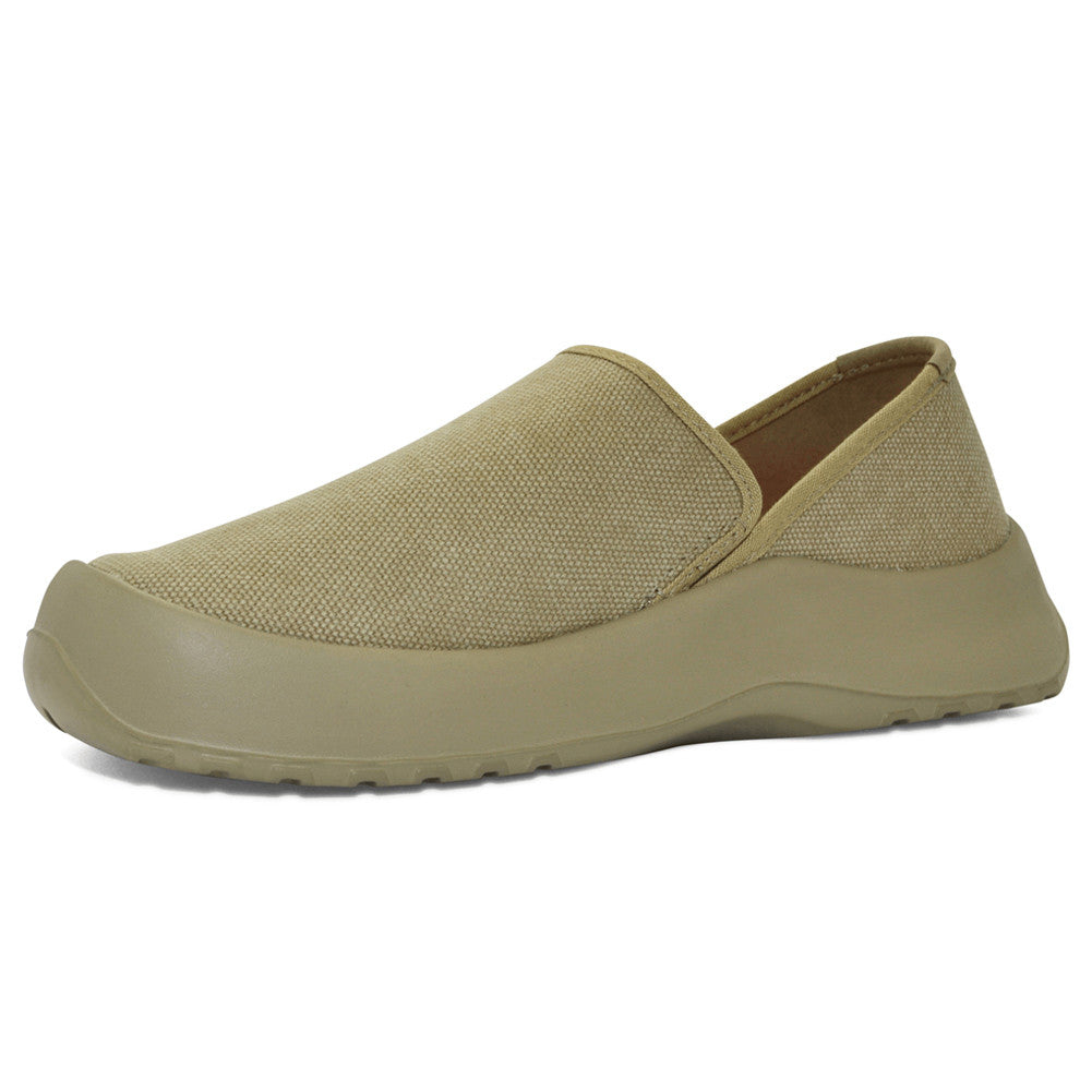 SOFTSCIENCE Unisex Drift Canvas Slip On Khaki Casual Shoes (UC0001KHA)