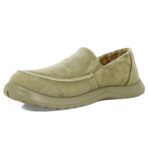 SOFTSCIENCE Mens Durango Canvas Khaki Casual Shoes (UC0051KHA)