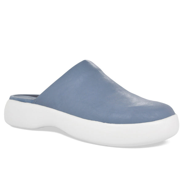 SOFTSCIENCE Womens Daisy Pro PU Light Blue Clogs (WC0026LBL)