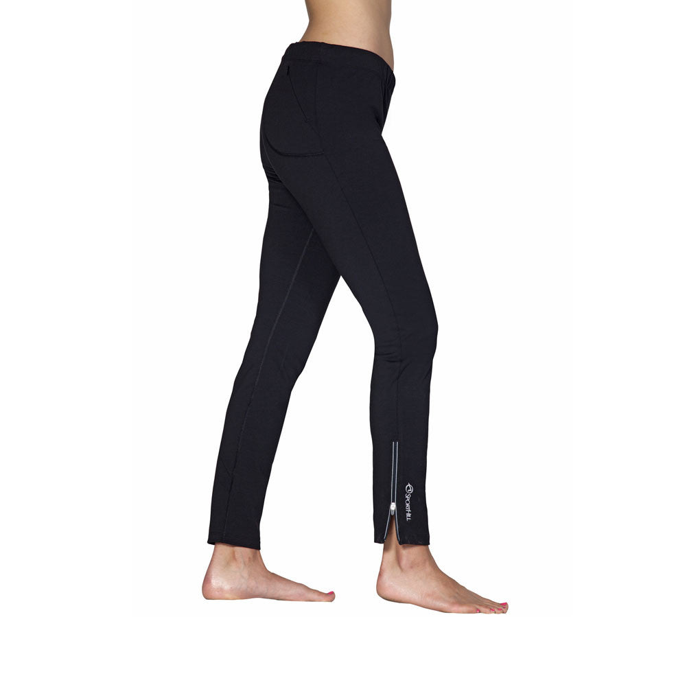 SPORTHILL 661 Triplex Slim Black Pants