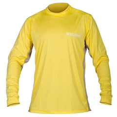 STORMR RW215M-63 Mens UV Shield Long Sleeve Yellow Performance T-Shirt