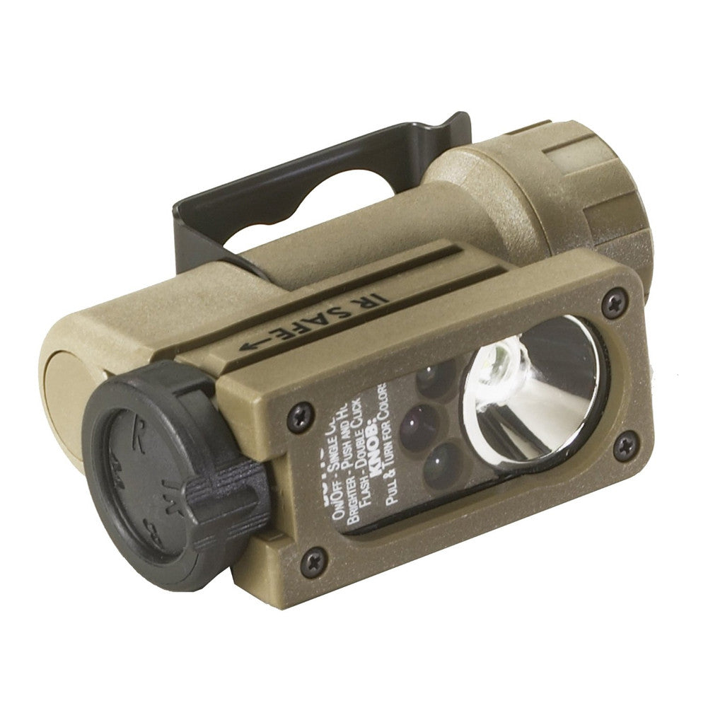 STREAMLIGHT 14512 Sidewinder Compact II 55 Lumens Flashlight with Helmet Mount
