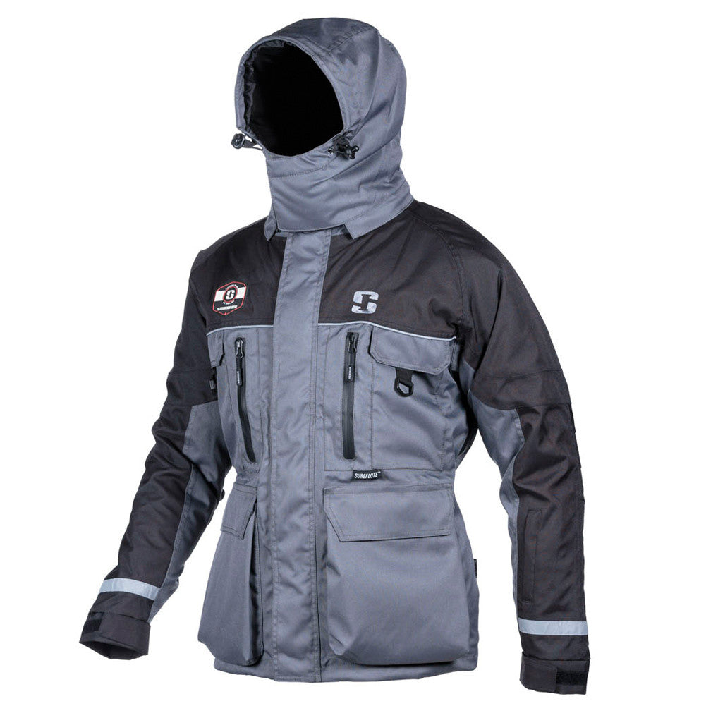 STRIKER 11400T Ice HardWater Gray/Black Jacket